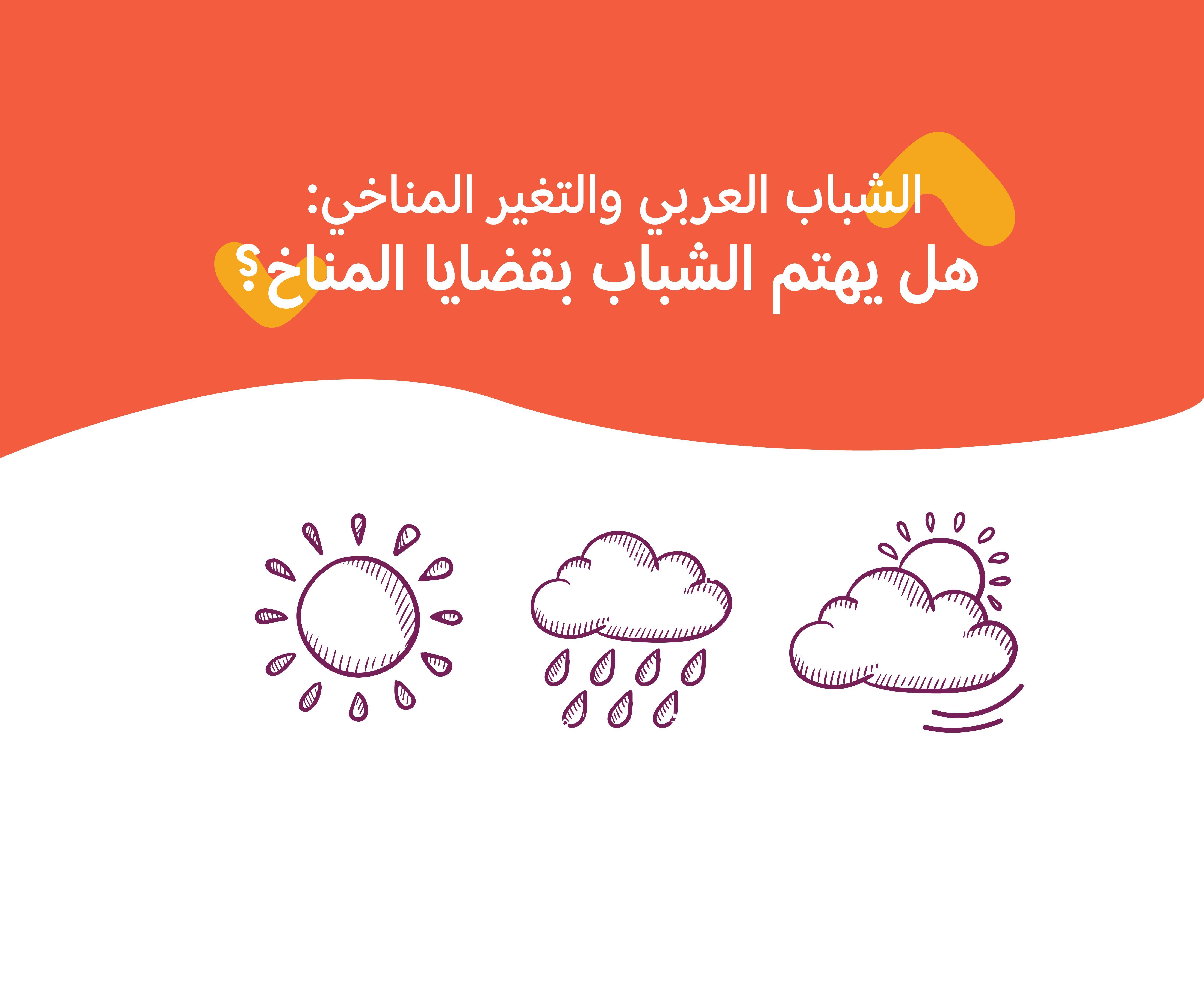 الشباب العربي والتغير المناخي: هل يهتم الشباب بقضايا المناخ؟